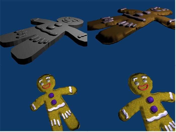 Blender ma premiere creation ptit biscuit par d4mien - Ti biscuit shrek ...