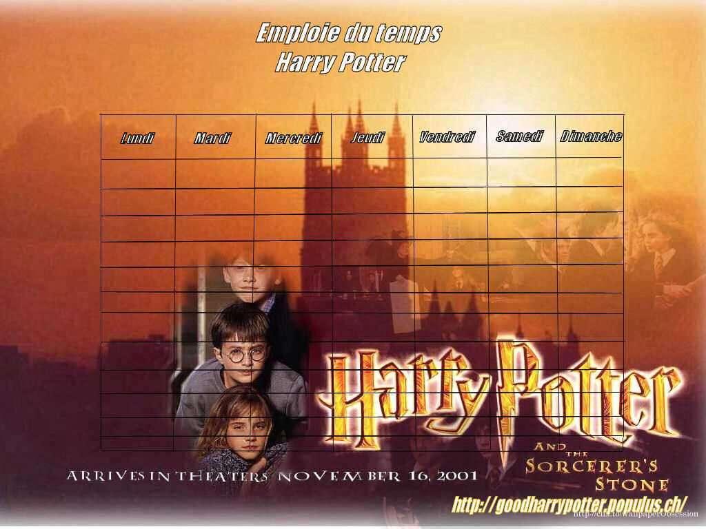 Fan d 39 harry potter - Harry potter 8 et les portes du temps ...