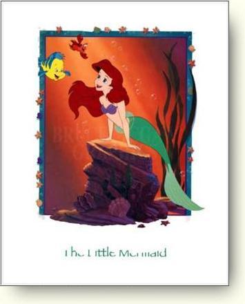 La Petite Sirène Arielandflounder