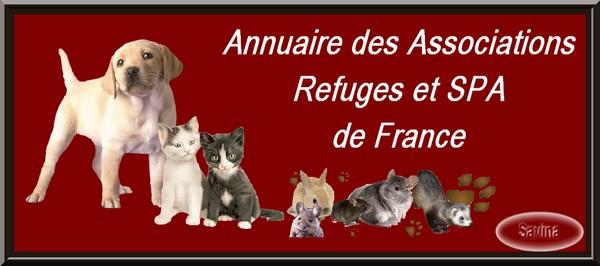 Annuaire des associations, refuges et spa de France